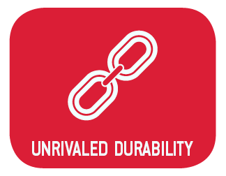 Unrivaled Durability
